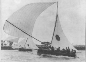 Historic 18 Footer - Betty and Aberdare