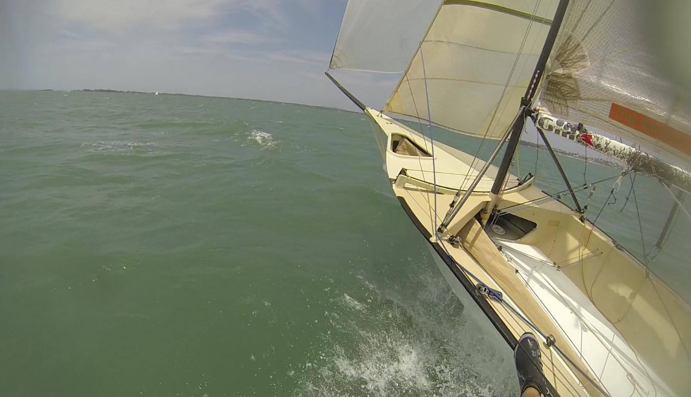CST first kite ride