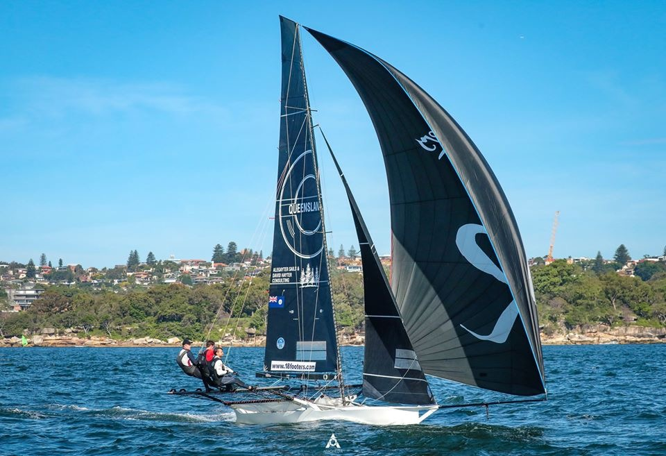 Queenslander 2020 JJ Giltinan. Photo credit Aeromedia.