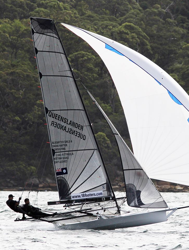 Queenslander 2020 JJ Giltinan. Photo credit Australian 18 Footers